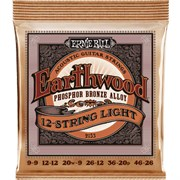 ERNIE BALL 2153 Phosphor Bronze 12-string light 9-46