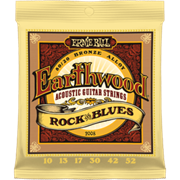 ERNIE BALL 2008 Earthwood 80/20 Bronze Rock and Blues 10-52