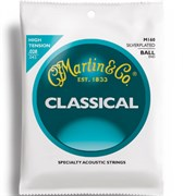 MARTIN m160 (clear nylon silver, ball-end)