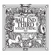 3-я струна ERNIE BALL 1523 (черный нейлон, шарик на конце)