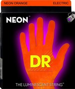 11-60 DR NEON NOE7-11 Orange Electric 7-string