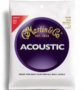 MARTIN m190 light 80/20 bronze 12-string 12-54