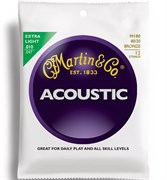 10-47 MARTIN m180 extra light 80/20 bronze 12-string