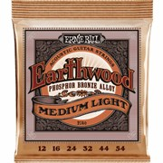 ERNIE BALL 2146 Earthwood Phosphor Bronze medium light 12-54