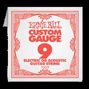 Отдельная струна Ernie Ball 9ка для электро или акустической гитары