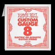 1-я струна 8 ERNIE BALL (для электро или акустики)