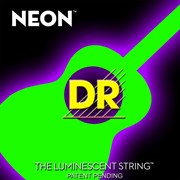 DR NEON NGA12 Green Acoustic