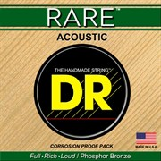Струны DR RARE RPML-11 custom light 11-50, phosphor bronze